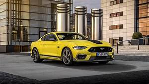 Yellow Ford Mustang Mach 1 2021 4K 5K HD Cars Wallpapers   HD Wallpapers   ID #45889