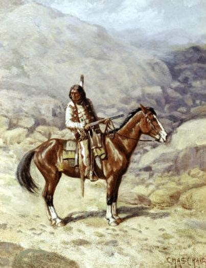 horses native american european indian did brought animals tribes americas before were charles horseback combat craig each they couldn