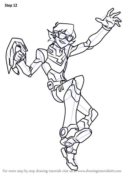 learn   draw pidge  voltron legendary defender