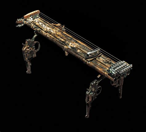 Artist Fabricates 50 Functional Instruments from Destroyed ...