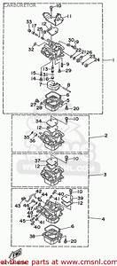 Yamaha F40  F50  T50trx 1999 Carburetor