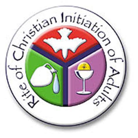 Image result for rite of christian initiation of adults logo