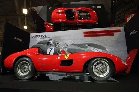 L'asta sarà organizzata da artcurial e la stima è di 28/32 milioni di euro. Lionel Messi's Ferrari 335 S Spider Scaglietti - 10 Famous Classic Cars That Sportsmen Have ...