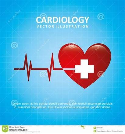 Cardiology Illustration Background Cardiologist Royalty