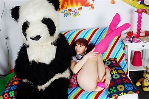 Strap On Porn In The Bedroom With A Panda #Pandafuck