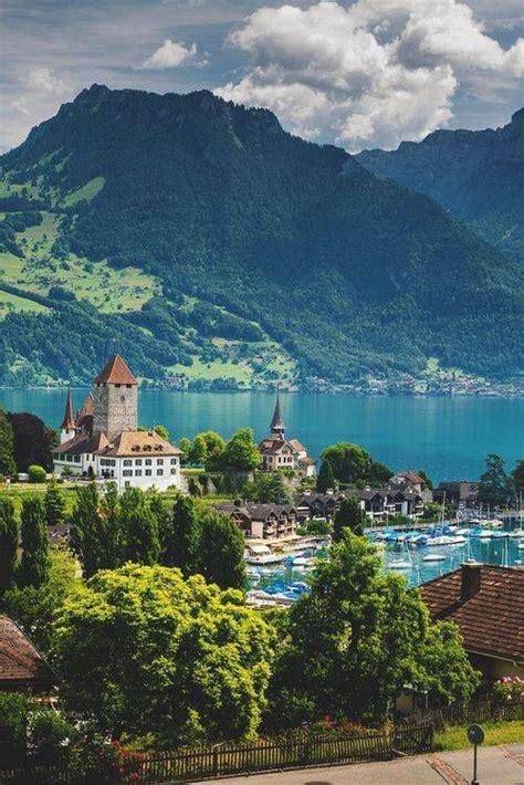 Spiez Switzerland Favorite Places And Spaces Pinterest
