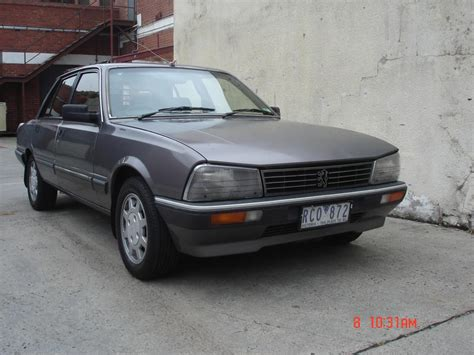 Peugeot 505 For Sale by Peugeot 505 Gti Sedan 1987 With Reg Rwc For Sale