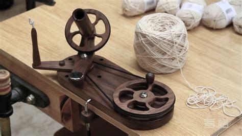 woodworking diy homemade yarn winder  youtube