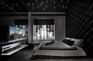 15, Elegant, Black, And, White, Bedroom, Design, Ideas