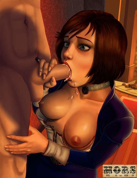 Rule 34 Bioshock Bioshock Infinite Blue Eyes Breasts
