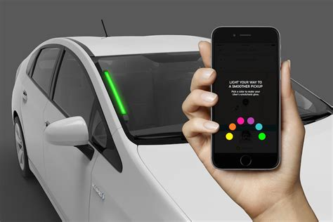 Uber Has A Colorful New Way To Prevent Awkward Car Mixups