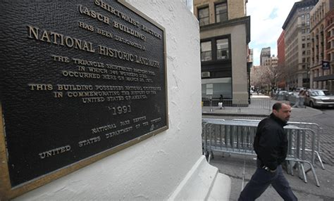 asse recognizes  anniversary   triangle shirtwaist