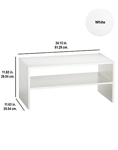 Closetmaid 24 Inch Horizontal Organizer - closetmaid 8993 stackable 24 inch wide horizontal