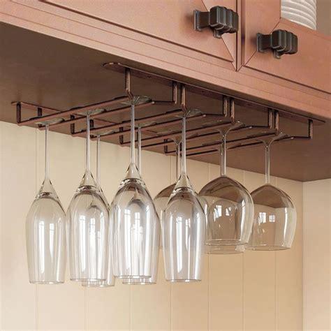 Cabinet Stemware Rack by Best 10 Wine Glass Rack Ideas On Glass Rack