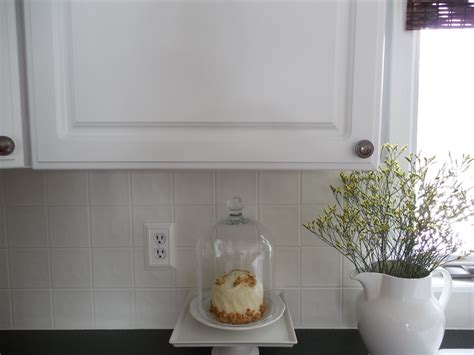 Diy Painting A Ceramic Tile Backsplash