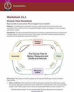 Economics Worksheet Circular Flow Simulation Pdf  U2014 Db