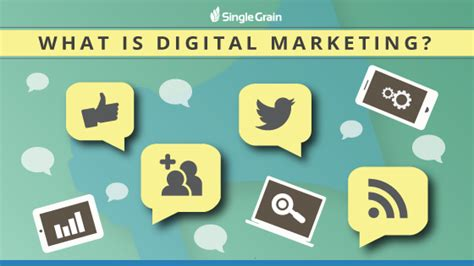 What Is Digital Marketing by The Ultimate Guide To Digital Marketing Single Grain