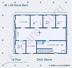 plans for barns with living quarters plans diy free With 5 stall horse barn