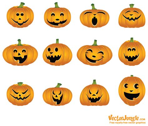 pumpkin faces for pumpkin face design