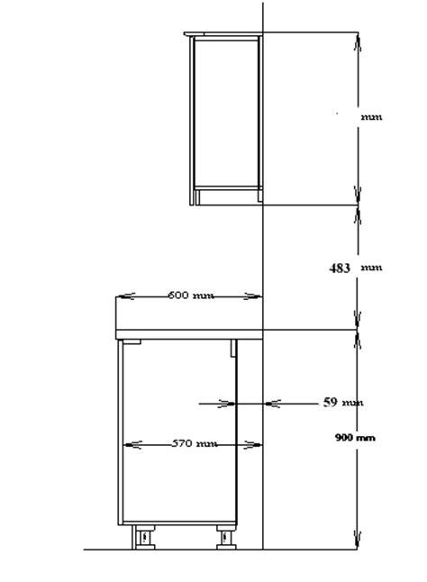 standard kitchen wall cabinet height  floor