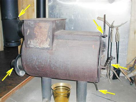 water tank wood burning stove