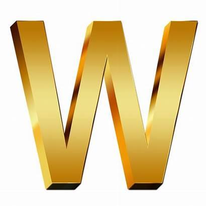 Letras Letters Oro Gold Abc Education Transparent