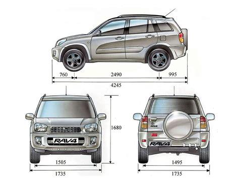 Rav 4 Length by 2007 Toyota Rav4 Interior Dimensions Www Indiepedia Org