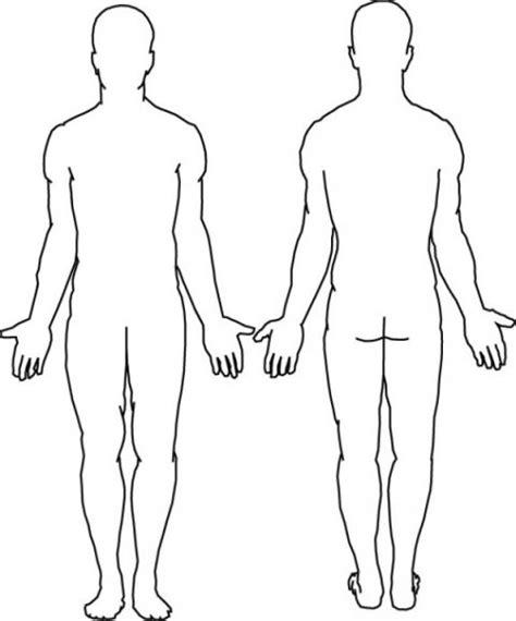 dibujos del cuerpo humano  colorear cuerpo humano