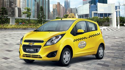 Chevrolet Spark Taxi Ra Mắt, Giá 309 Triệu đồng