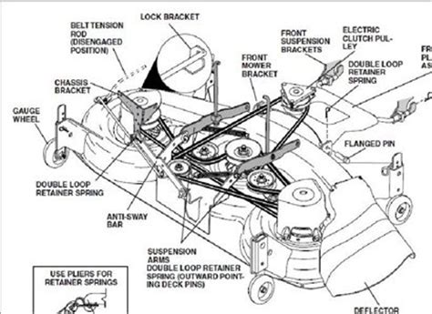 solved    diagram   mower deck   fixya