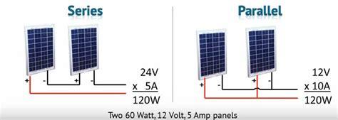 solar panel parallel connection diagram circuit diagram