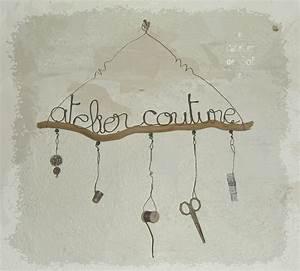 Fil De Fer Recuit : atelier couture fil de fer et bois flott photo de bois ~ Dailycaller-alerts.com Idées de Décoration