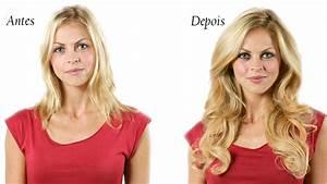 Antes e Depois de Mega Hair