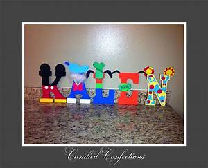 mickey mouse clubhouse letters candied confections wood With mickey mouse clubhouse letter stencils
