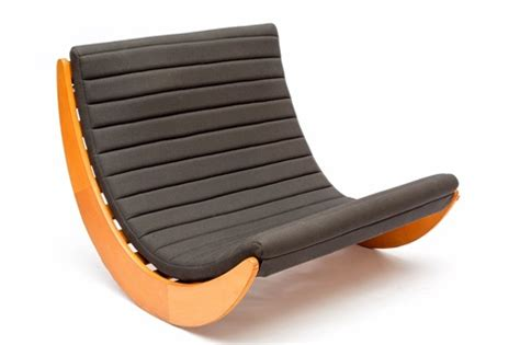 bodenschaukel relaxer 2 two seater rocking chair by verner