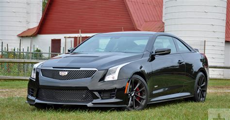 2017 cadillac ats v coupe review performance pictures