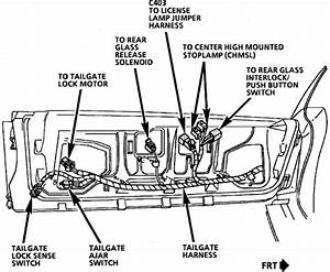 1993 Ford Bronco Wiring Diagram Tailgate