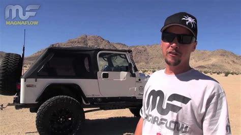 jeep wrangler lj  magnaflow exhaust competition