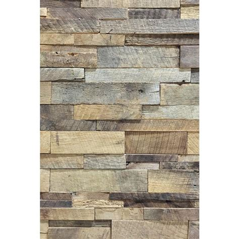 home depot reclaimed wood look tile reclaimed 1 in x 39 5 in x 11 5 in american