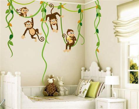 Babyzimmer Wandgestaltung Tiere by Bilderwelten Wandtattoo 187 Affen Dschungel Safari 171 Ab 44 95