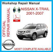 nissan cd car service repair manuals ebay