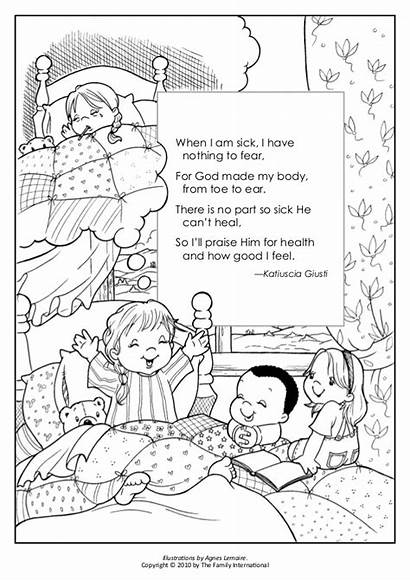 God Coloring Pages Kind Deed Fear Am