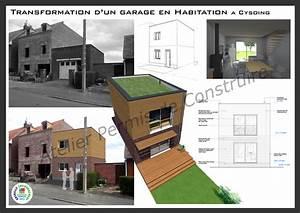 transformation d39un garage en habitation a cysoing With transformation garage en logement