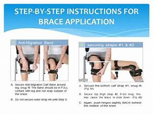 Donjoy Knee Brace Acl  U0026 Oa Fitting Guide