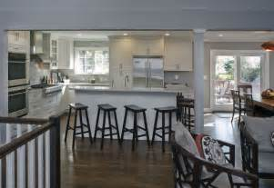 split level kitchen ideas a raised ranch opened up white kitchens