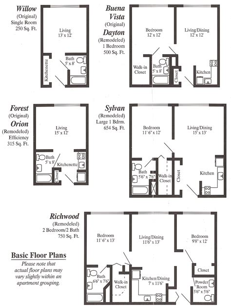 in apartment floor plans floor plans floor plans apartments 13 free home plans