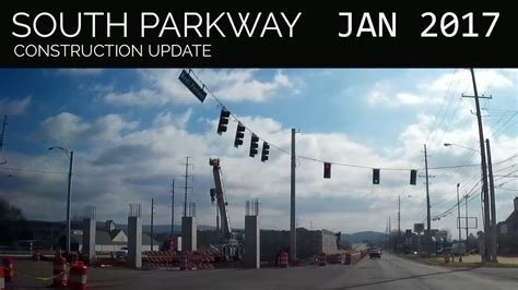 south parkway construction update january  huntsville
