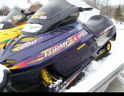 formula 3 skidoo 1998 ski doo formula 3 700 cc snowmobile for sale