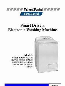 Fisher Paykel Washing Machine Parts Diagram  U2013 Parts For Fisher And Paykel Washing Machines   46