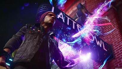 Infamous Son Second Wallpapers Neon 1080 Computer